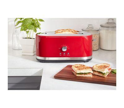Тостер Artisan на 2 хлебца, удлиненные слоты, красный, 5KMT4116EER, KitchenAid, фото 7