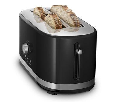 Тостер Artisan на 2 хлебца, удлиненные слоты, черный, 5KMT4116EOB, KitchenAid, фото 2