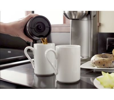 Кофеварка персональная, кремовая, 5KCM0402EAC, KitchenAid, фото 5