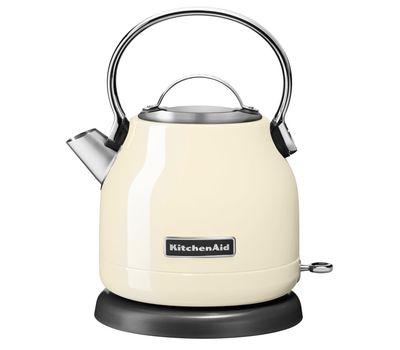 Чайник электрический, 1.25 л, кремовый, 5KEK1222EAC, KitchenAid, фото 1