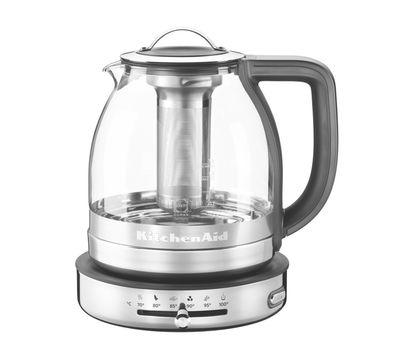Чайник электрический для кипячения и заваривания, 1,5 л., стеклянный,  5KEK1322SS KitchenAid, фото 1