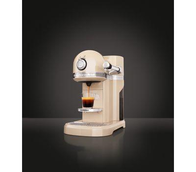 Кофеварка капсульная Artisan Nespresso, кремовая, 5KES0503EAC, KitchenAid, фото 5