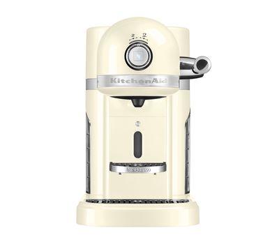 Кофеварка капсульная Artisan Nespresso + Aeroccino, кремовая, 5KES0504EAC, KitchenAid, фото 2