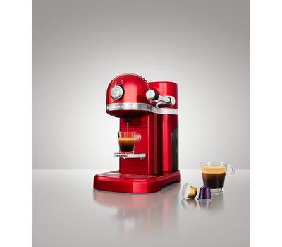 Кофеварка капсульная Artisan Nespresso, карамельное яблоко, 5KES0503ECA, KitchenAid, фото 7
