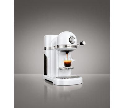 Кофеварка капсульная Artisan Nespresso, морозный жемчуг, 5KES0503EFP, KitchenAid, фото 5