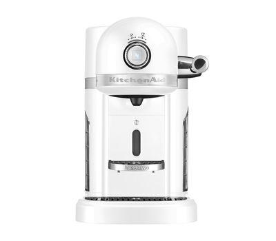Кофеварка капсульная Artisan Nespresso + Aeroccino, морозный жемчуг, 5KES0504EFP, KitchenAid, фото 2