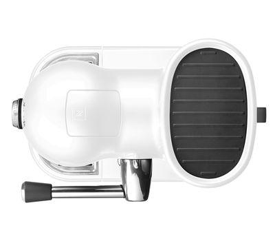 Кофеварка капсульная Artisan Nespresso + Aeroccino, морозный жемчуг, 5KES0504EFP, KitchenAid, фото 4