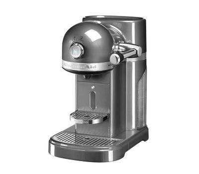 Кофеварка капсульная Artisan Nespresso, серебряный медальон, 5KES0503EMS, KitchenAid, фото 1