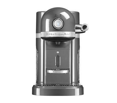 Кофеварка капсульная Artisan Nespresso, серебряный медальон, 5KES0503EMS, KitchenAid, фото 2
