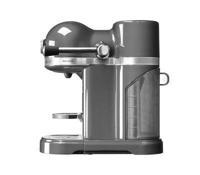 Кофеварка капсульная Artisan Nespresso, серебряный медальон, 5KES0503EMS, KitchenAid, фото 3