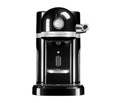 Кофеварка капсульная Artisan Nespresso + Aeroccino, черная, 5KES0504EOB, KitchenAid, фото 2