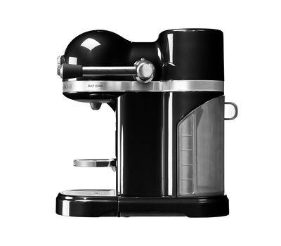 Кофеварка капсульная Artisan Nespresso + Aeroccino, черная, 5KES0504EOB, KitchenAid, фото 3