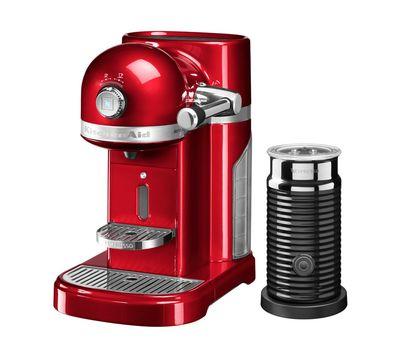 Кофеварка капсульная Artisan Nespresso + Aeroccino, карамельное яблоко, 5KES0504ECA, KitchenAid, фото 1