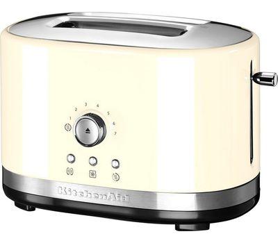 Тостер Artisan на 2 хлебца, кремовый, 5KMT2116EAC, KitchenAid, фото 1