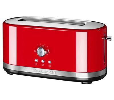 Тостер Artisan на 2 хлебца, удлиненные слоты, красный, 5KMT4116EER, KitchenAid, фото 1