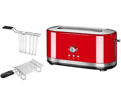Тостер Artisan на 2 хлебца, удлиненные слоты, красный, 5KMT4116EER, KitchenAid, фото 3