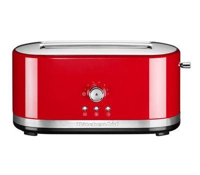Тостер Artisan на 2 хлебца, удлиненные слоты, красный, 5KMT4116EER, KitchenAid, фото 4