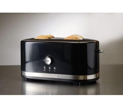 Тостер Artisan на 2 хлебца, удлиненные слоты, черный, 5KMT4116EOB, KitchenAid, фото 5