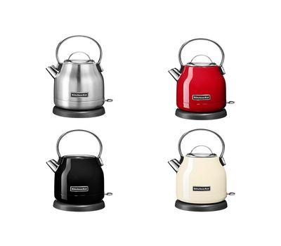 Чайник электрический, 1.25 л, кремовый, 5KEK1222EAC, KitchenAid, фото 3
