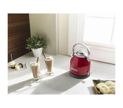 Чайник электрический, 1.25 л, кремовый, 5KEK1222EAC, KitchenAid, фото 4