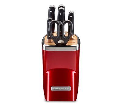 Набор ножей Professional Series, 7 предметов, карамельное яблоко, KKFMA07CA, Kitchenaid, фото 2