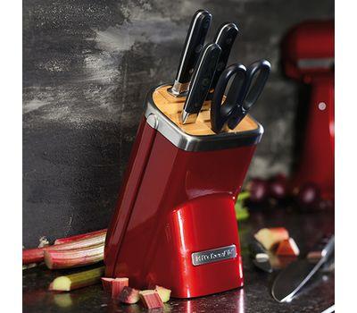 Набор ножей Professional Series, 7 предметов, карамельное яблоко, KKFMA07CA, Kitchenaid, фото 4