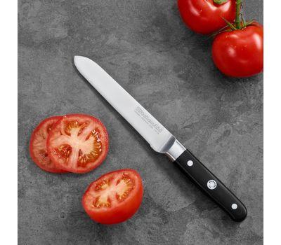 Нож универсальный с зубчатым лезвием Professional Series, 14 см, KKFTR5SUWM, KitchenAid, фото 2