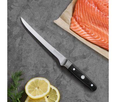Нож филейный гибкий Professional Series, 18 см, KKFTR7FLWM, KitchenAid, фото 2