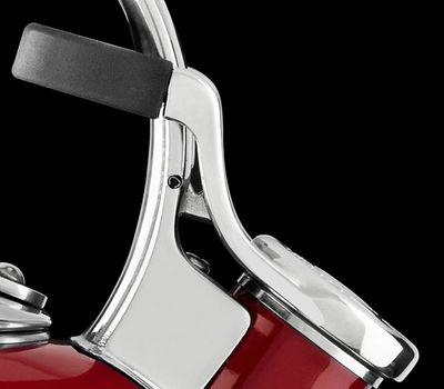 Чайник наплитный классический со свистком 1,89 л, черный, KTEN20SBOB, KitchenAid, фото 3