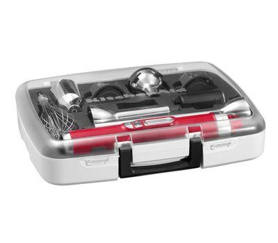 Блендер погружной беспроводной, 5 скоростей, набор аксессуаров, карамельное яблоко, 5KHB3581ECA, KitchenAid, фото 4