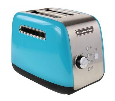 Тостер на 2 хлебца, голубой кристалл, 5KMT221, KitchenAid, фото 2