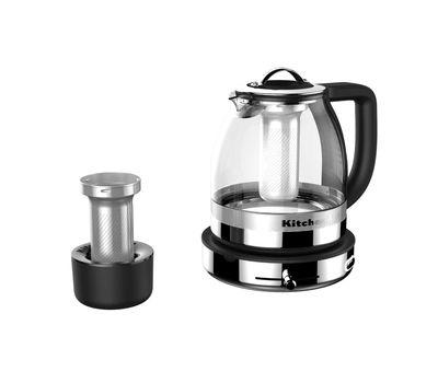 Чайник электрический для кипячения и заваривания, 1,5 л., стеклянный,  5KEK1322SS KitchenAid, фото 2