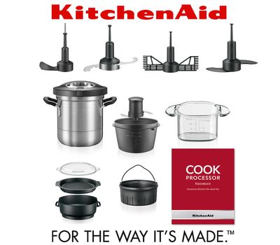 Процессор кулинарный Artisan, объем 4.5л, кремовый, 5KCF0103EAC, KitchenAid, фото 8