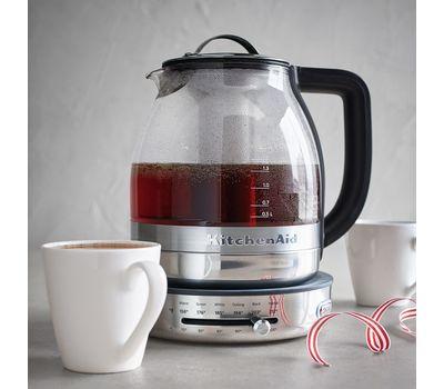 Чайник электрический для кипячения и заваривания, 1,5 л., стеклянный,  5KEK1322SS KitchenAid, фото 6