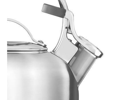 Чайник наплитный классический со свистком 1,89 л, стальной, KTST20SBST, KitchenAid, фото 3