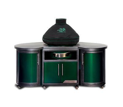 Чехол вентилируемый на купол для L, с дымоходом BGE в комбинации со столом Dome Cover L, черный, Big Green Egg, фото 1