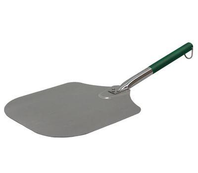 Лопатка для пиццы алюминиевая, зелёная ручка, Big Green Egg, фото 1