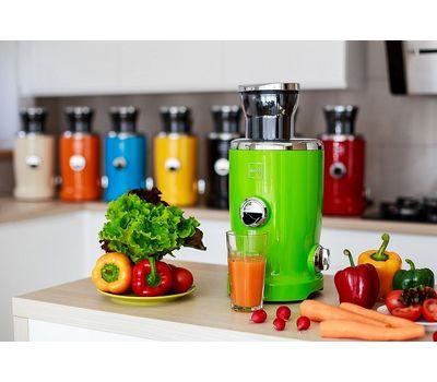 Соковыжималка д/фруктов и овощей, многофункциональная Novis Vita Juicer (4в1), зеленая, фото 5