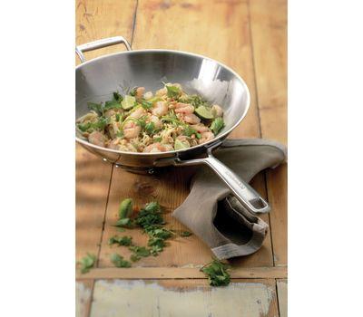 Сковорода-вок с крышкой, 33 см, нержавеющая сталь, KC2T13WKST, KitchenAid, фото 2