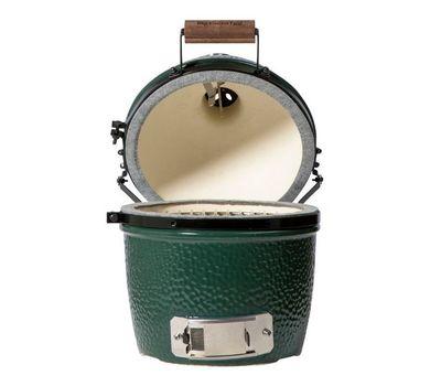 Гриль угольный MINI EGG, 25 см, керамические стенки, Big Green Egg, фото 2