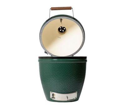 Гриль угольный LARGE EGG, большой, 46см, керамические стенки, Big Green Egg, фото 5
