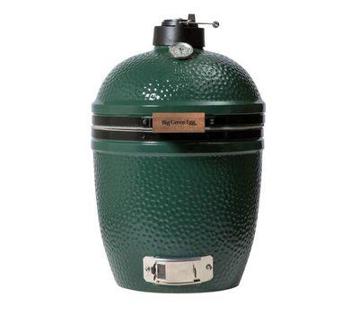 Гриль угольный SMALL EGG, малый, 33см, керамические стенки, Big Green Egg, фото 1