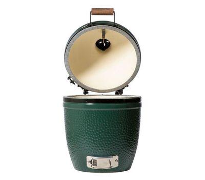 Гриль угольный SMALL EGG, малый, 33см, керамические стенки, Big Green Egg, фото 7