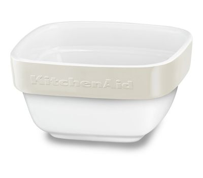 Набор керамических чаш для запекания (4 шт.), 0,22 л, кремовый, KBLR04RMAC, KitchenAid, фото 3