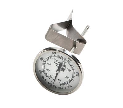 Термометр ШТАТНЫЙ, круглый, шкала +50/+400С (XXL), Big Green Egg, фото 1
