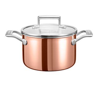 Набор посуды из 3 предметов, медь, KitchenAid, фото 2