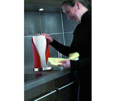 Держатель для рулонов бумаги, рубиново-красный, Wesco, фото 3
