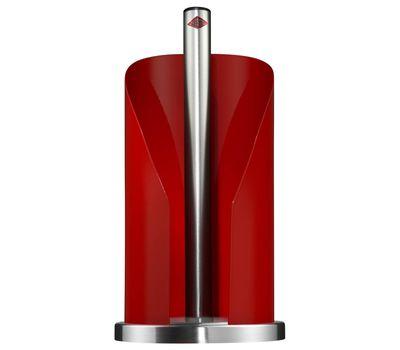 Держатель для бумажных полотенец, красный, Wesco, фото 1