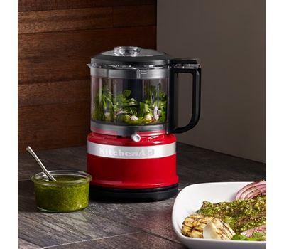 Кухонный мини-комбайн, чаша 0,8 л., красный, 5KFC3516EER, KitchenAid, фото 7
