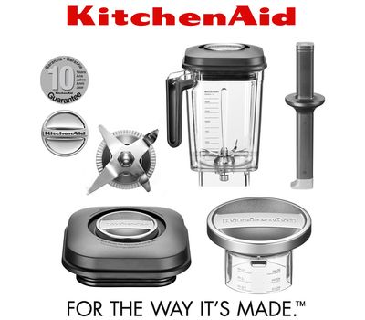 Блендер Artisan Power PLUS 5KSB8270EBK, 2,6 л., черный матовый, KitchenAid, фото 6